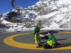 Heliski Cervinia - Heli base